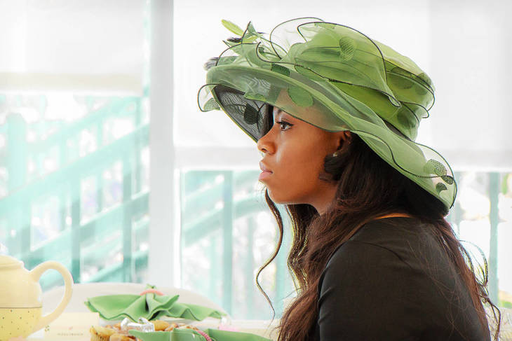 International High School Ladies Participate In Grand Tea