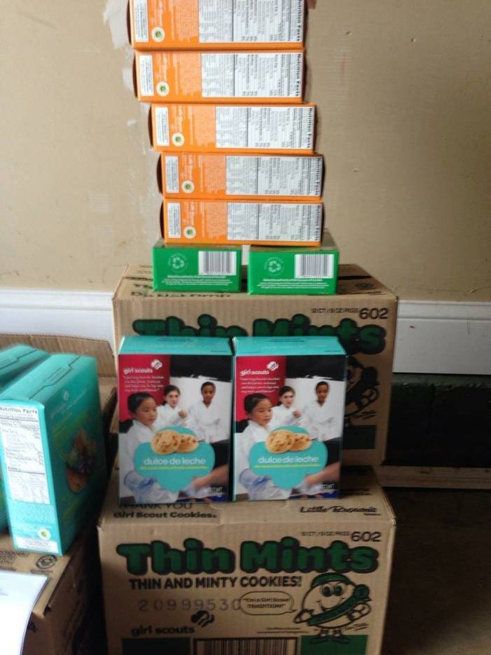Plainfield Girl Scout Troop 40263 Selling Girl Scout Cookies Plainfield Nj News Tapinto