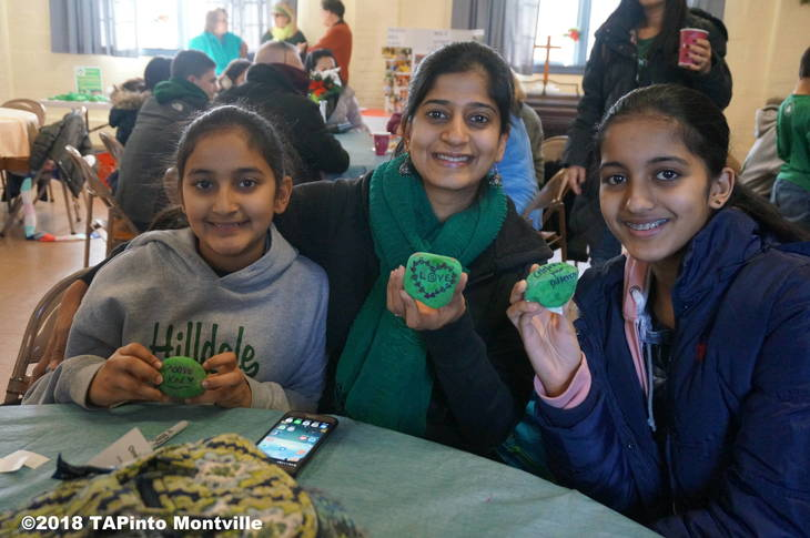 9216f05e706f01349d7d_a_Sanya_Vaidya__Poonam_Aier_and_Sahana_Vaidya_show_off_the_rocks_they_inscribed_with_encouraging_statements__2018_TAPinto_Montville.JPG