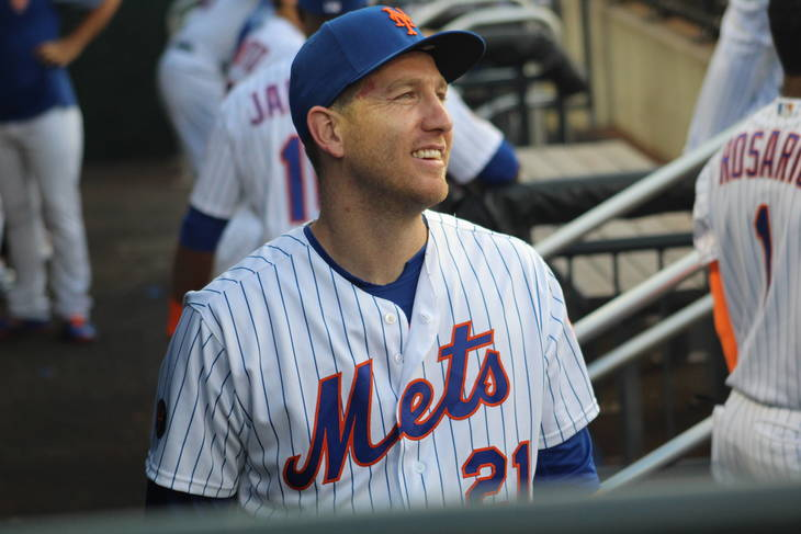 the latest ad9f3 b2c76 Mets' Todd Frazier Talks Jersey Roots, Benefits of Playing ...