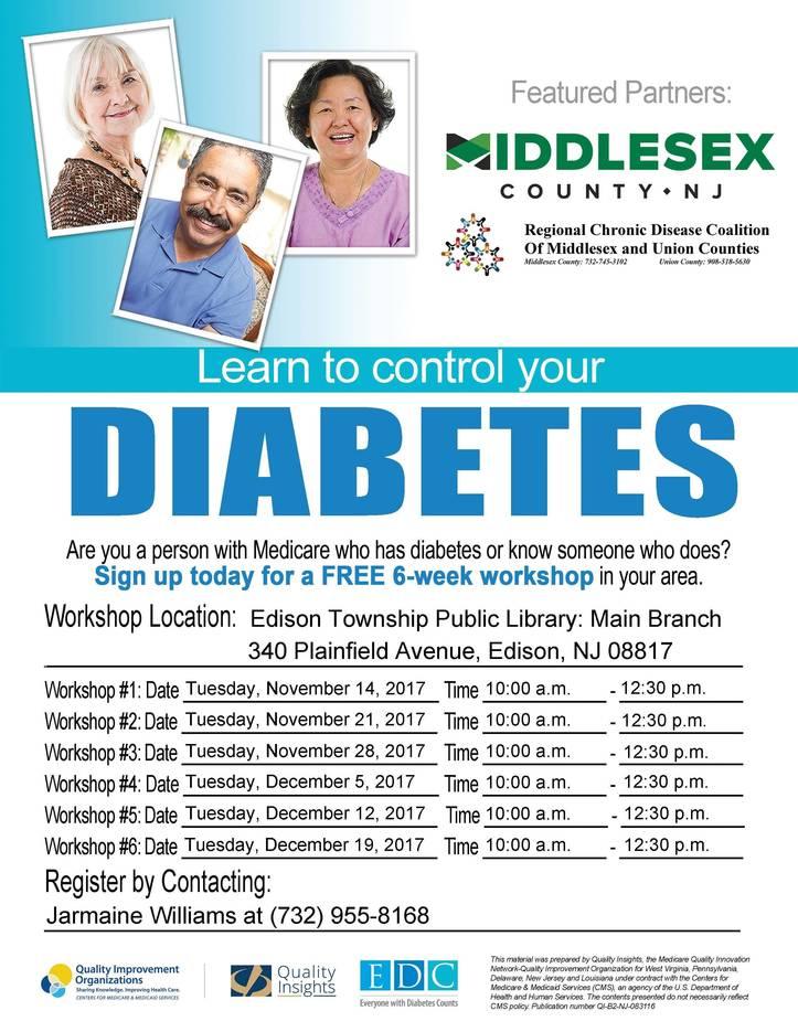 Diabetes support group morristown nj