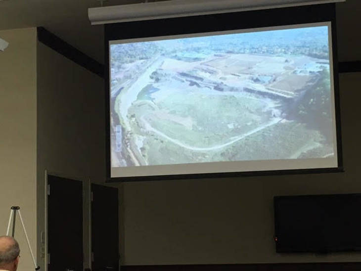 Presentation on Quarry Redevelopment Plan - With Homes, Hotel and Lake - Due Tuesday