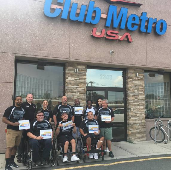 Operation Rebound and Club Metro Team Up to Help Veterans and First Responders