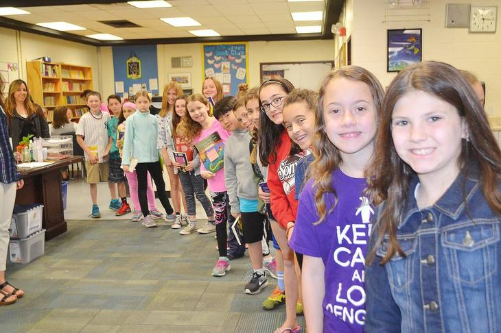 Author's Day at Somers Intermediate School Celebrates Town's History