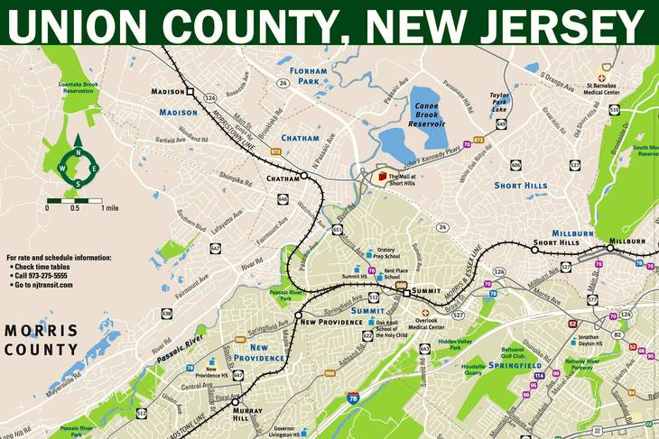 New Union County Transit Map Designed To Make Trip Planning More - Make a trip map