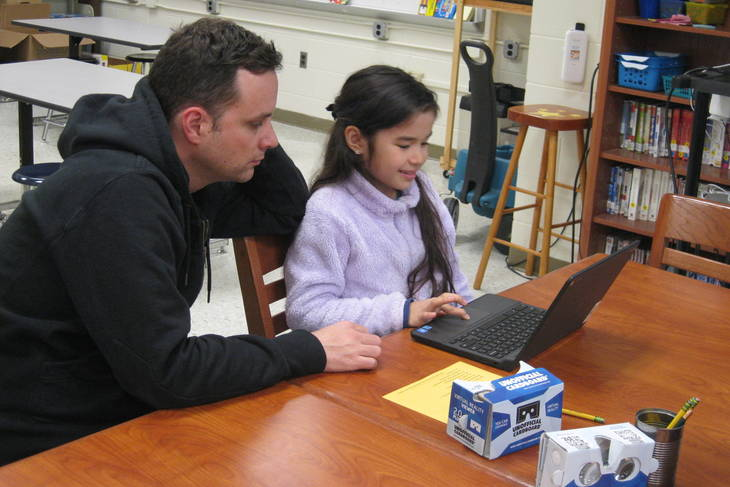 Family Technology Night At Franklin Elementary