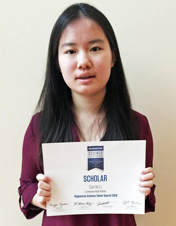 Carrie Livingston : Livingston Students Named National Merit Finalists; One ...