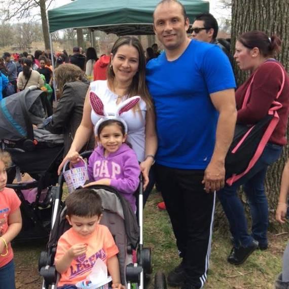 Hundreds turnout for annual Easter egg hunt