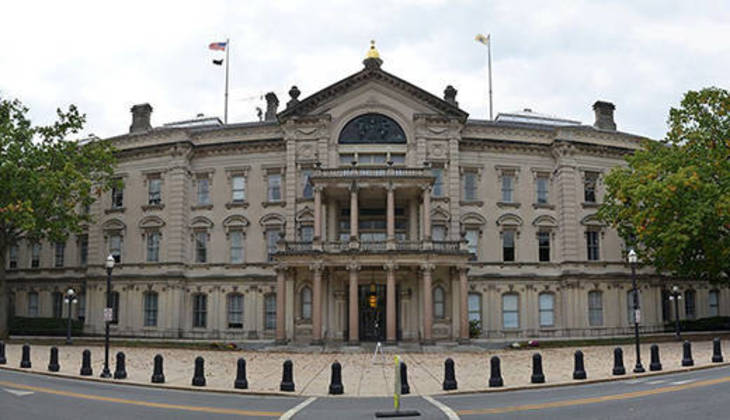 New Jersey lawmakers sue to halt $300M statehouse project