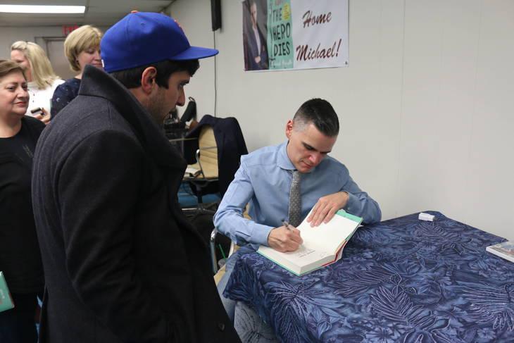 TV Journalist Michael Ausiello Returns Home to Roselle Park to Discuss His Memoir: Spoiler Alert: The Hero Dies