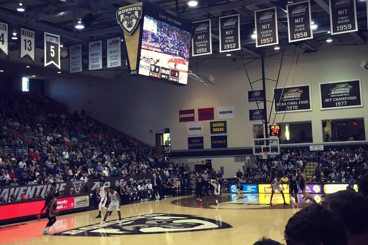 Bonaventure gets NCAA Tourney at large bid