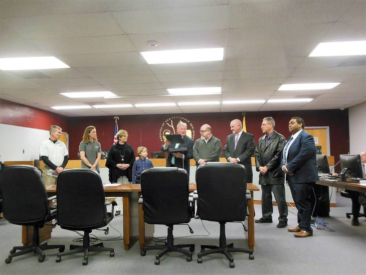 New Providence Borough Council Honors Local Businesses