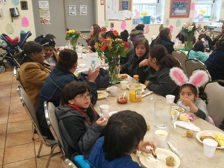 Oasis- A Haven for Women and Children Feeds More than 600 for Easter
