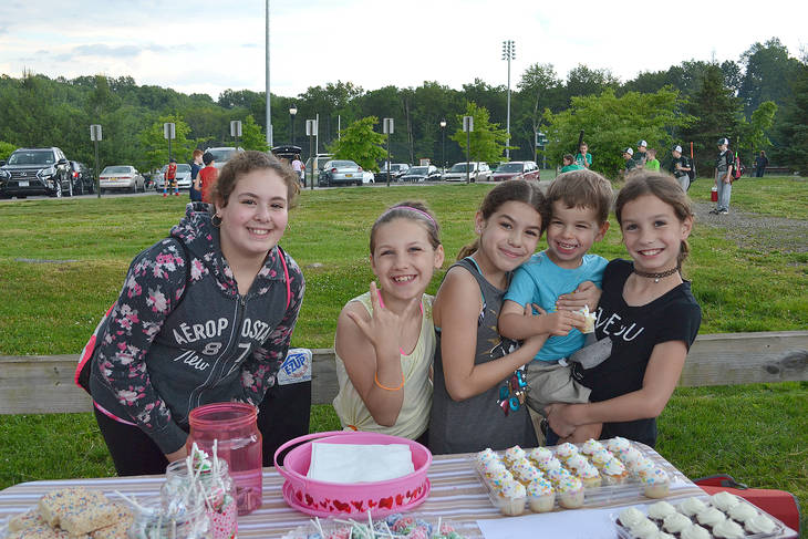 Yorktown Little Leaguers, Police do Battle in Charity Baseball Game