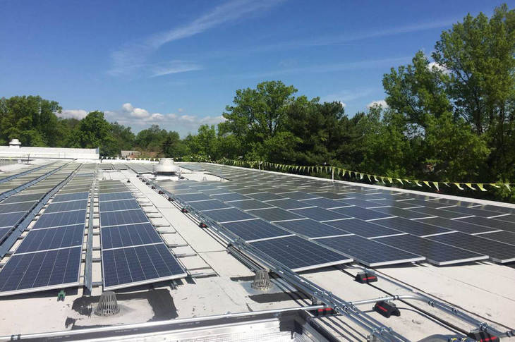 Westfield Schools Solar Panel Project Nearing Completion