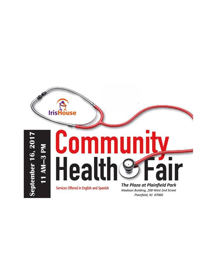 Iris House Co-hosts Sixth Annual Plainfield Health and Wellness Fair to Raise Awareness of HIV/AIDS and More