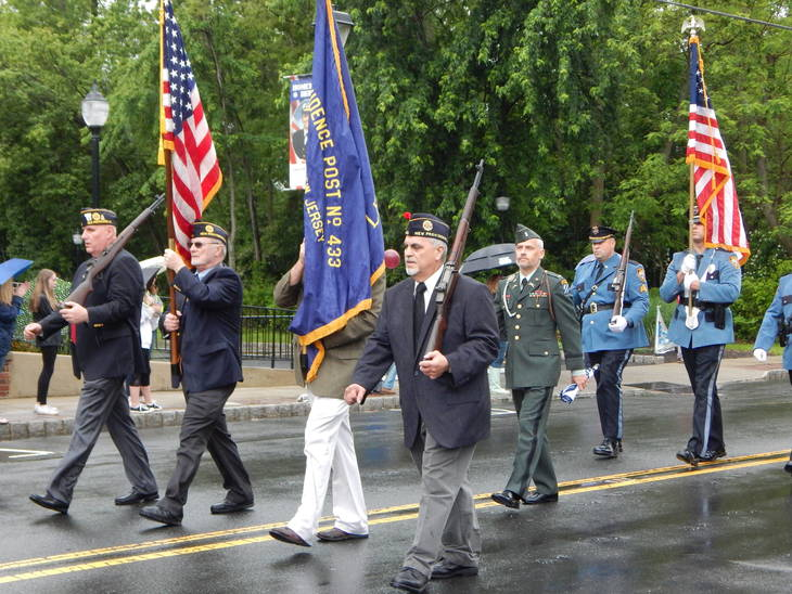 Riverhead Memorial Day Parade marches on through the rain