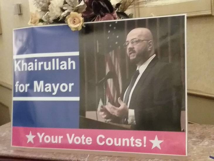 Prospect Park Mayor Mohamed Khairullah Hosts Packed Re-Election Party