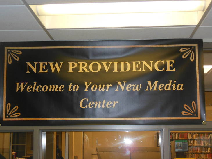 Renovated Facilities Highlight BOE's First Meeting at High School Media Center