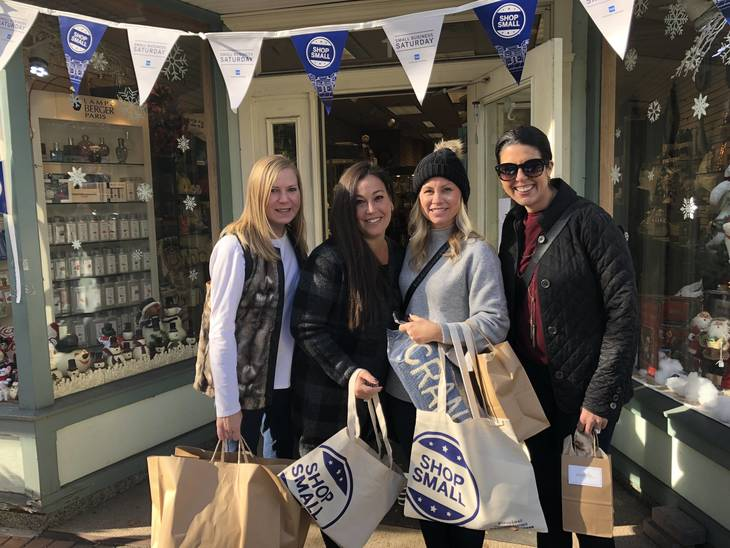 Westchester residents shop local for Small Business Saturday