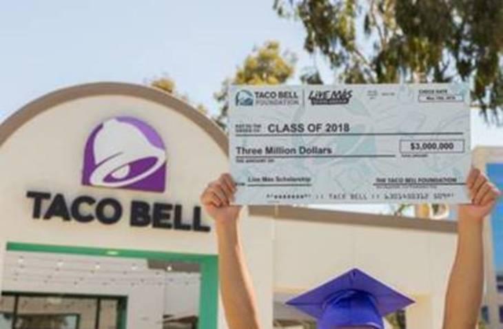 "EBHS Senior Bella Mashanski Wins $25K ""Live Mas"" Scholarship from Taco Bell"