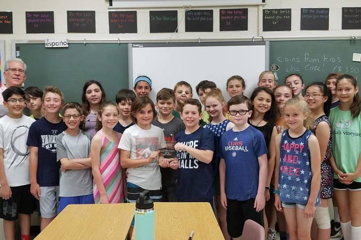 Lafayette School Receives 'Hope' Award from Community Foodbank of New Jersey