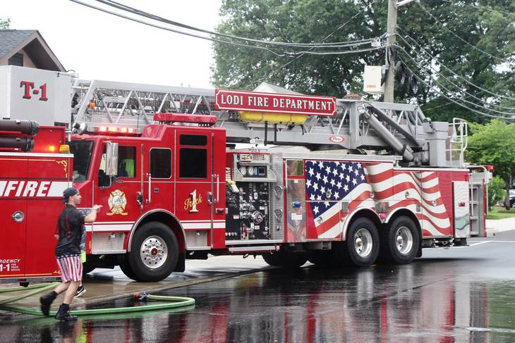 Photos Wood Ridge Fire Department Holds Wetdown For New Firetruck News Tapinto