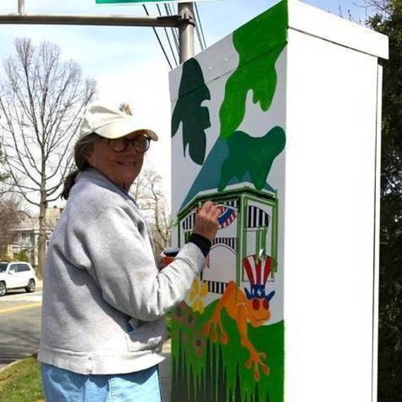 Chatham Public Arts Council Paints Grey into Green with Traffic Box Project