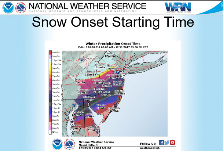 Snowfall to pick up Saturday afternoon, evening