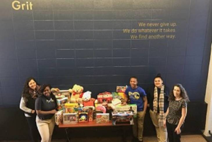 People's Preparatory Charter School creates some holiday magic for Newark kids