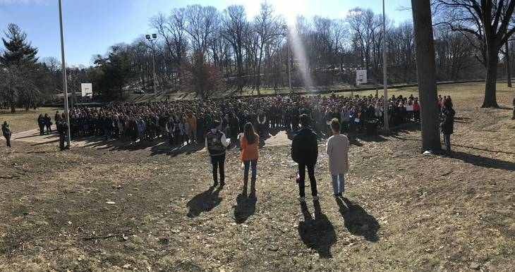 Milford students join nationwide call for safe schools