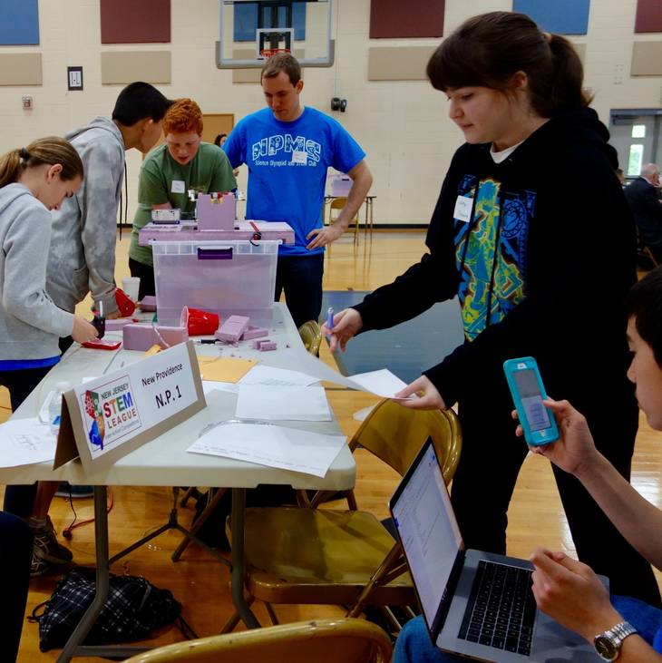 Stem School In Nj: Local Middle Schools Attend STEM Meet Held At Columbia