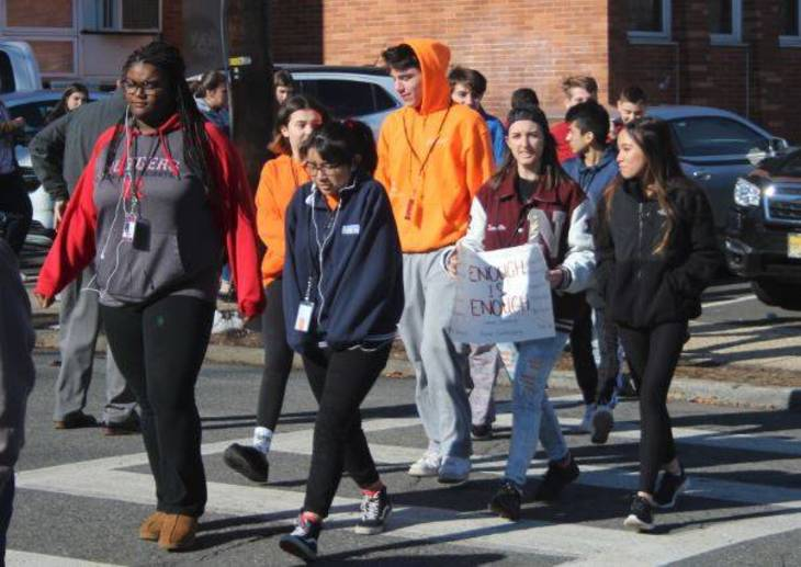 Nutley High students join thousands of others across the ...