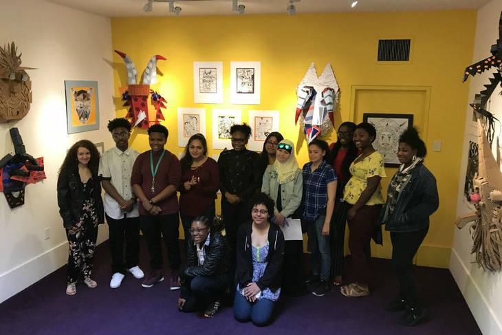 Creativity helps CAMVA students art shine at the Woodmere Art Museum