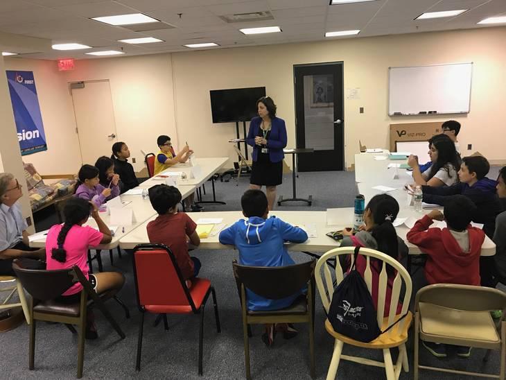 BASF Toastmasters Mentors Livingston Students in Leadership