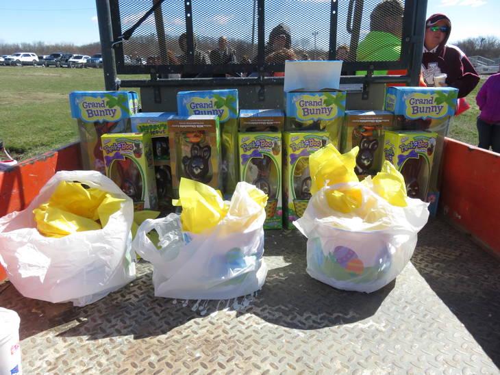 Bismarck Optimist Club hosts Capitol Grounds Easter egg hunt