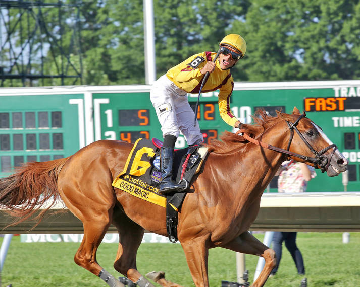 Monmouth Park Action A Freshened Up Good Magic Wins Haskell