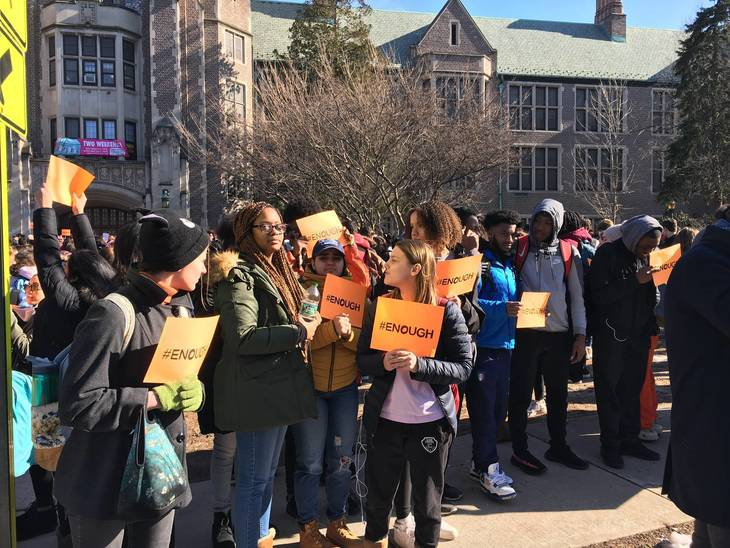 Students Lead Walkout at Columbia High School on Wednesday | TAPinto