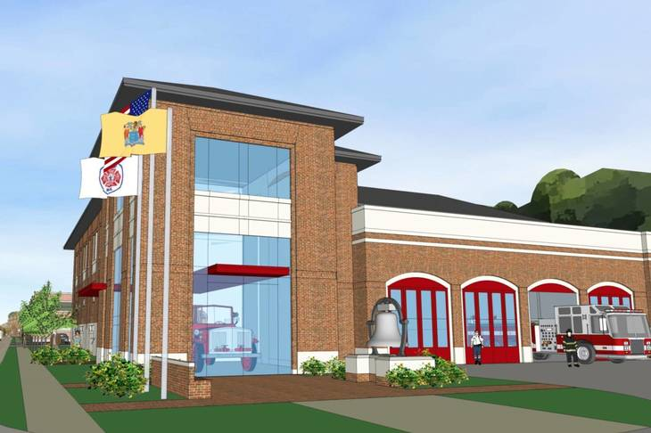Summit Council Gets First Look at Proposed New Firehouse Project