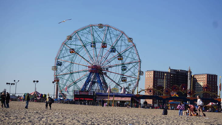 Coney Island stampede follows false report of gunshots