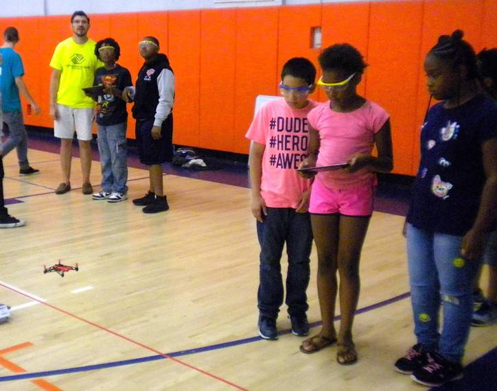 Chatham High Senior Writes JerseySTEM Curriculum on Drones and Takes it to Boys & Girls Club