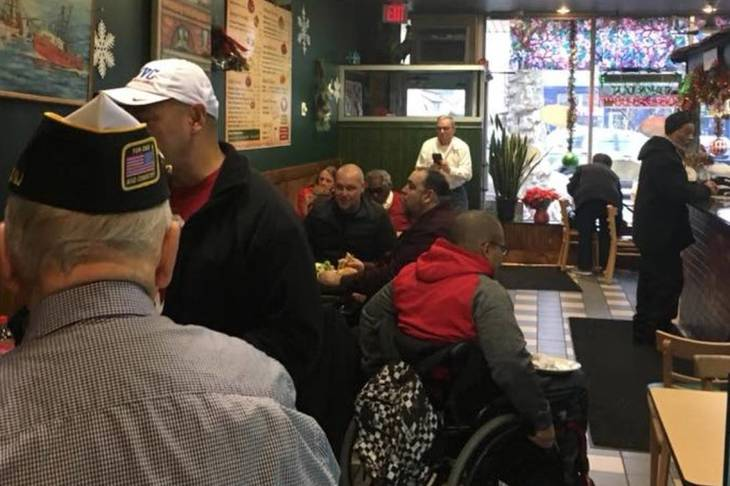 New Jersey Veterans Network and Burnet B.B.Q. Feed Veterans