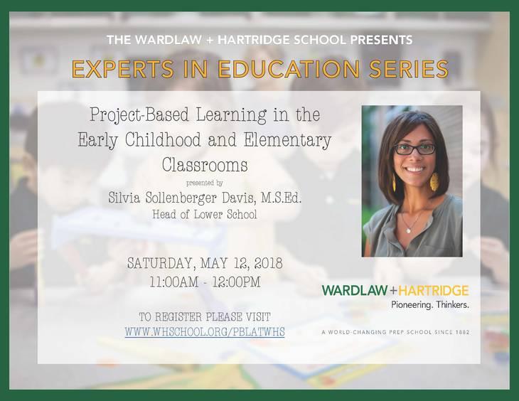 Wardlawhartridge School Hosting Experts In Education Series