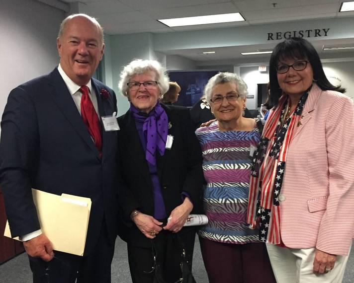 An Innovative Tenure Recognized:  Former County Clerk Joseph J. Bell