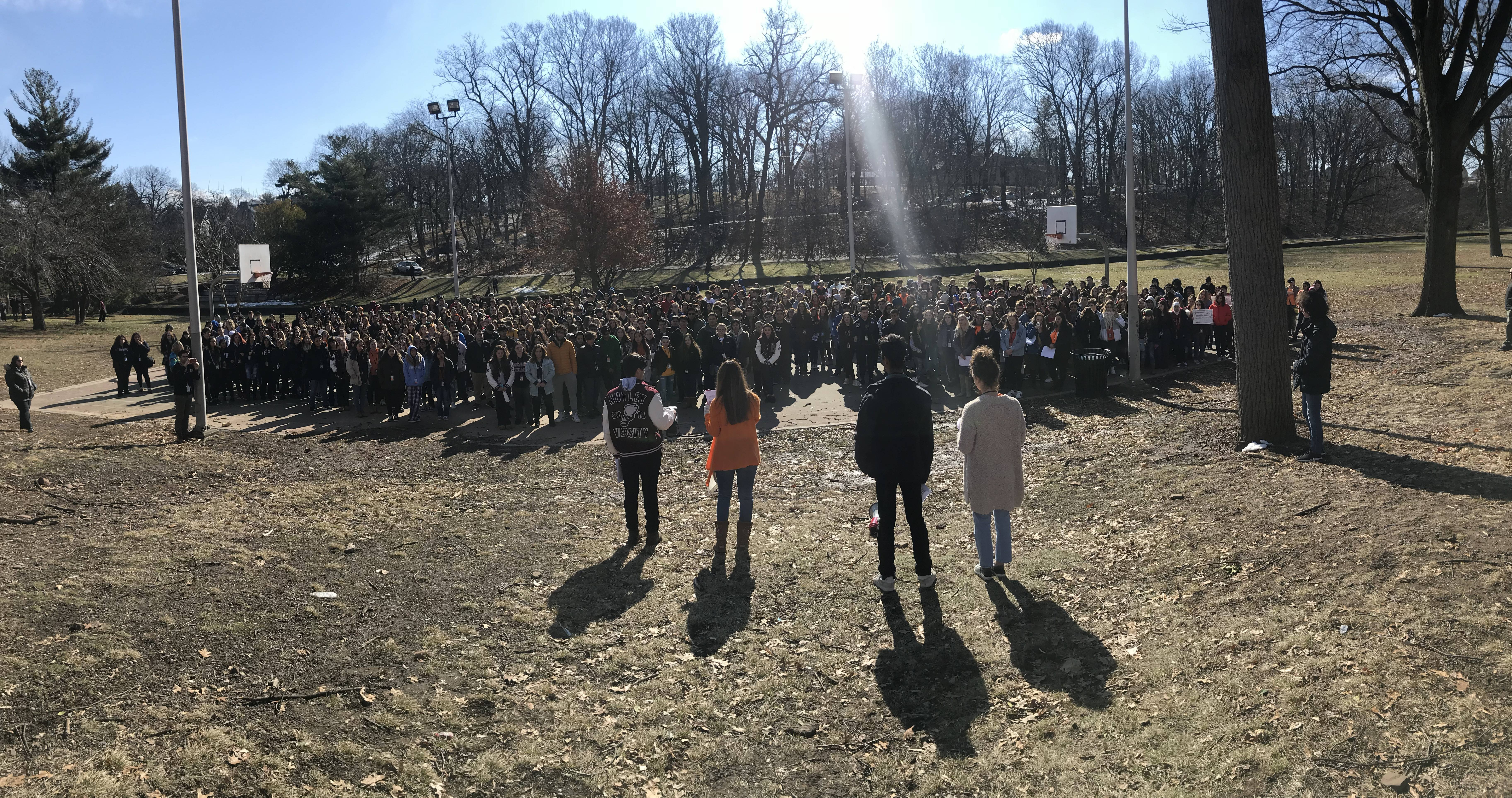 ABQ students join national walkout seeking safer schools