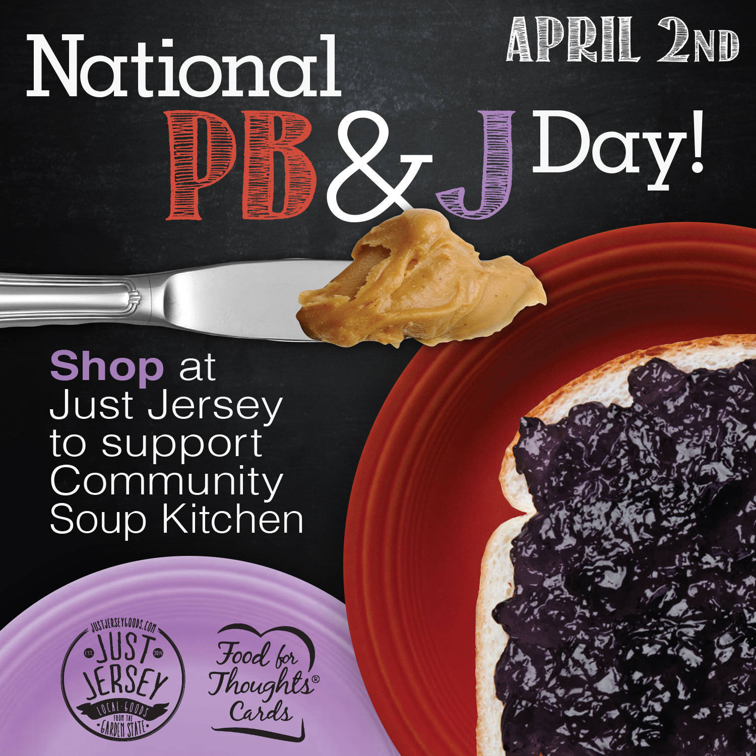 On National PB & J Day, Shop Local To Support Morristown's