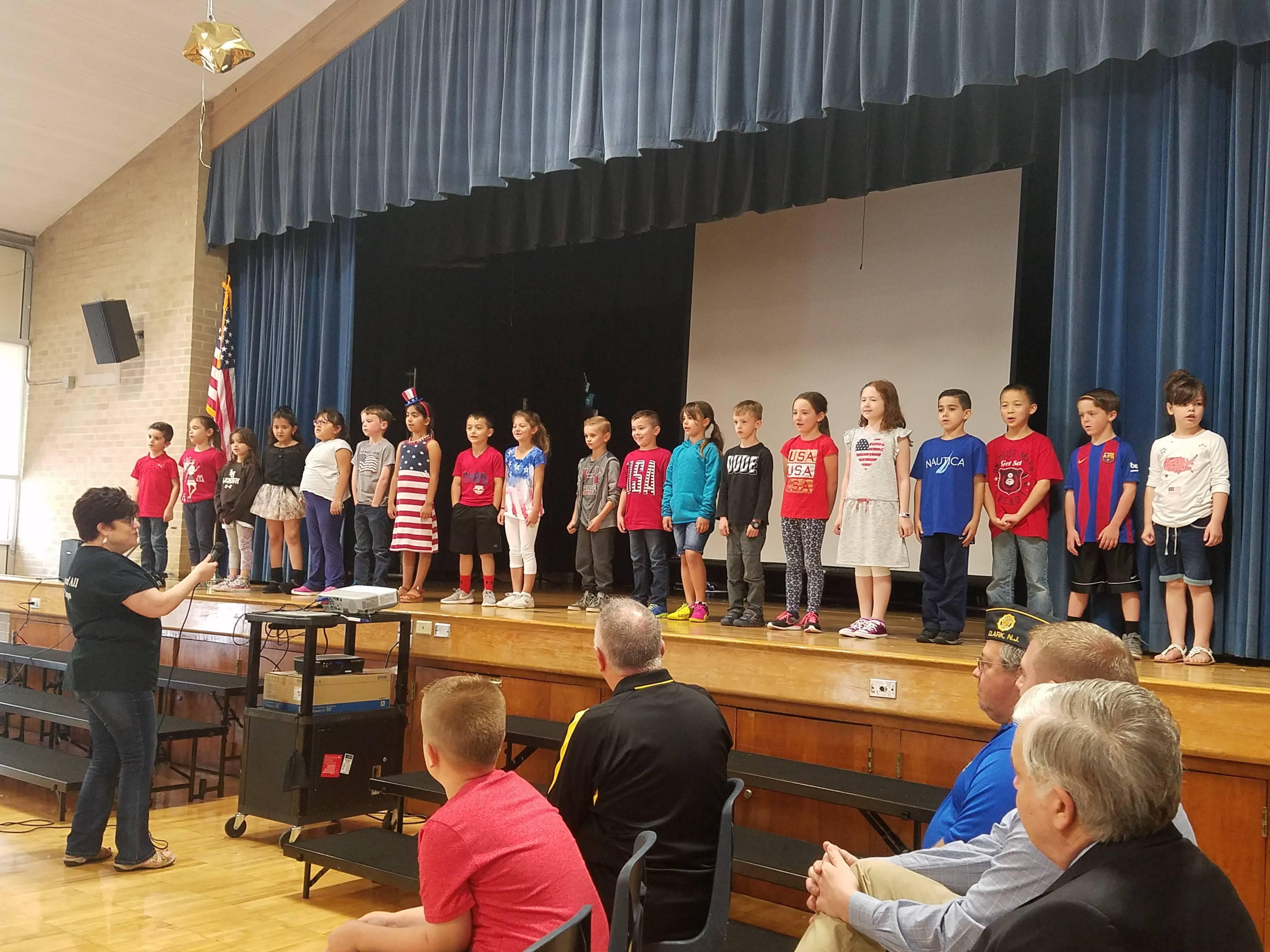 memorial day remembrances at clark elementary schools clark nj