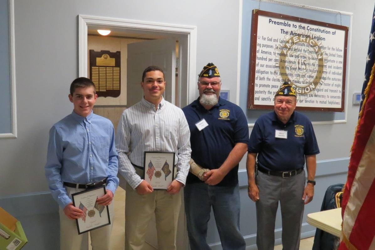 american legion recognizes high school juniors yorktown ny news content options