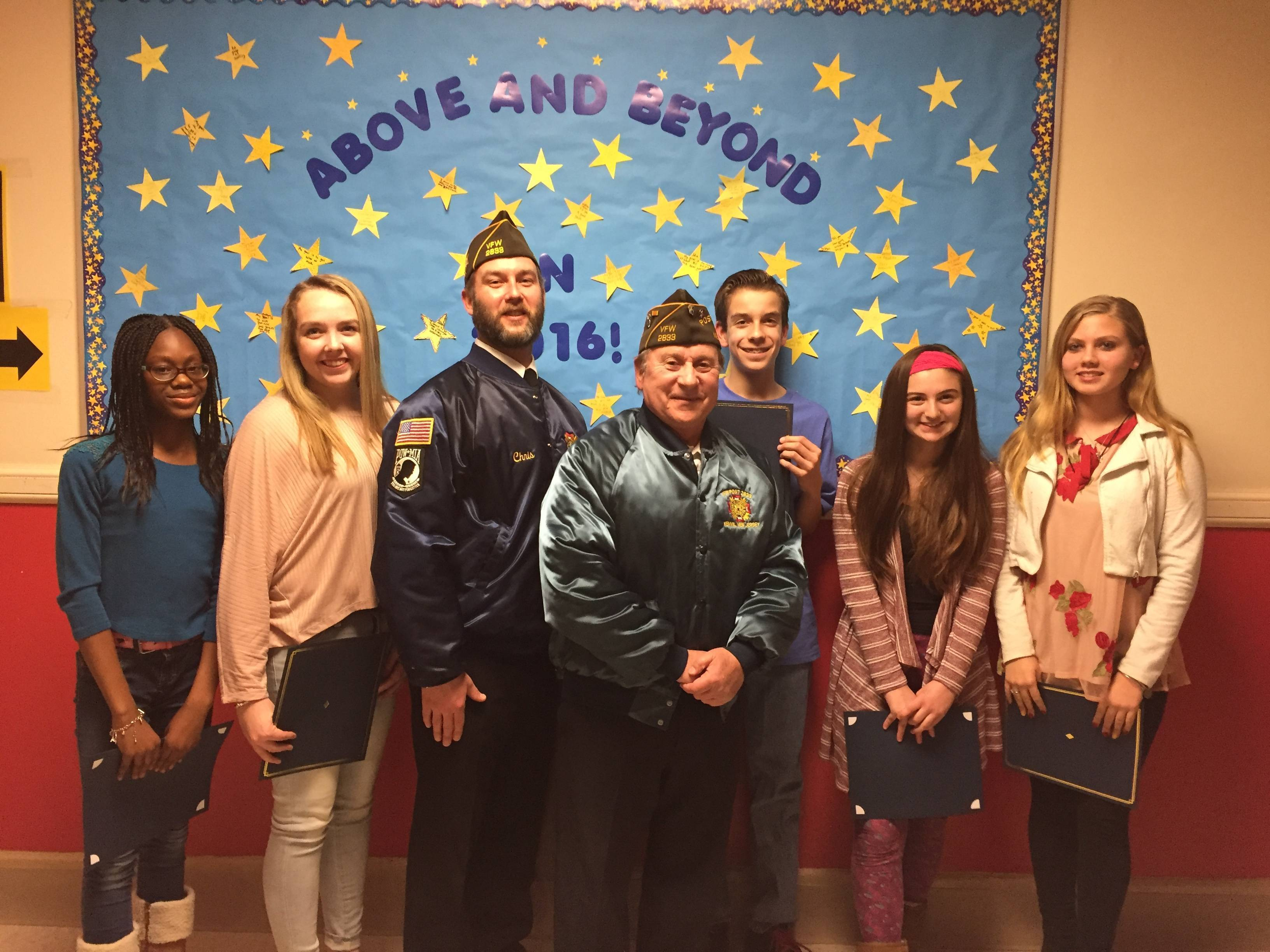 local vfw celebrates patriots pen and voice of democracy essay  ecfe20898339de291f8a 29003feb5dc3723b1b08 patriots pen voice of democracy winners jpg patriots pen voice of democracy