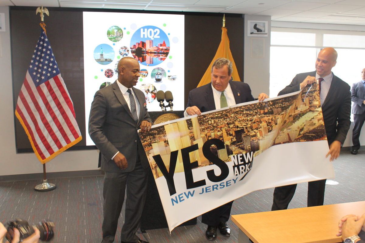Christie Throws Support Behind Newark's Amazon Bid with Attractive Incentives